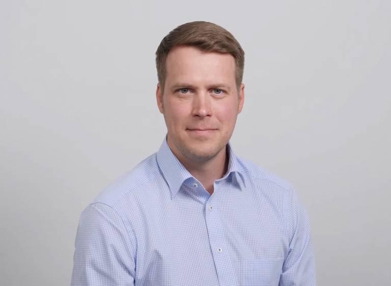 Kuvassa Elmon myyntijohtaja Vesa Pääkkönen